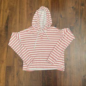 Aeropostale love love dream striped hoodie